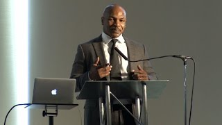 Mike Tyson Speaks at Prisoner Reentry Conference
