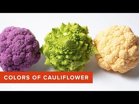 What 's the Difference Between the Many Colors of Cauliflower?