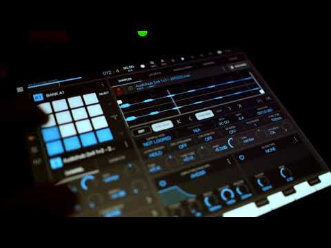 Composing with just 2 short samples in BeatMaker 3