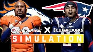 New England Patriots vs. Denver Broncos Week 5 Full Game | Madden 2020 Season Simulation