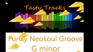 Funky Neosoul Guitar Backing Track - Jam Track - Play Along - G minor