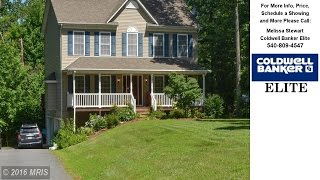 167 CALVARY DRIVE, MONTROSS, VA Presented by Melissa Stewart.