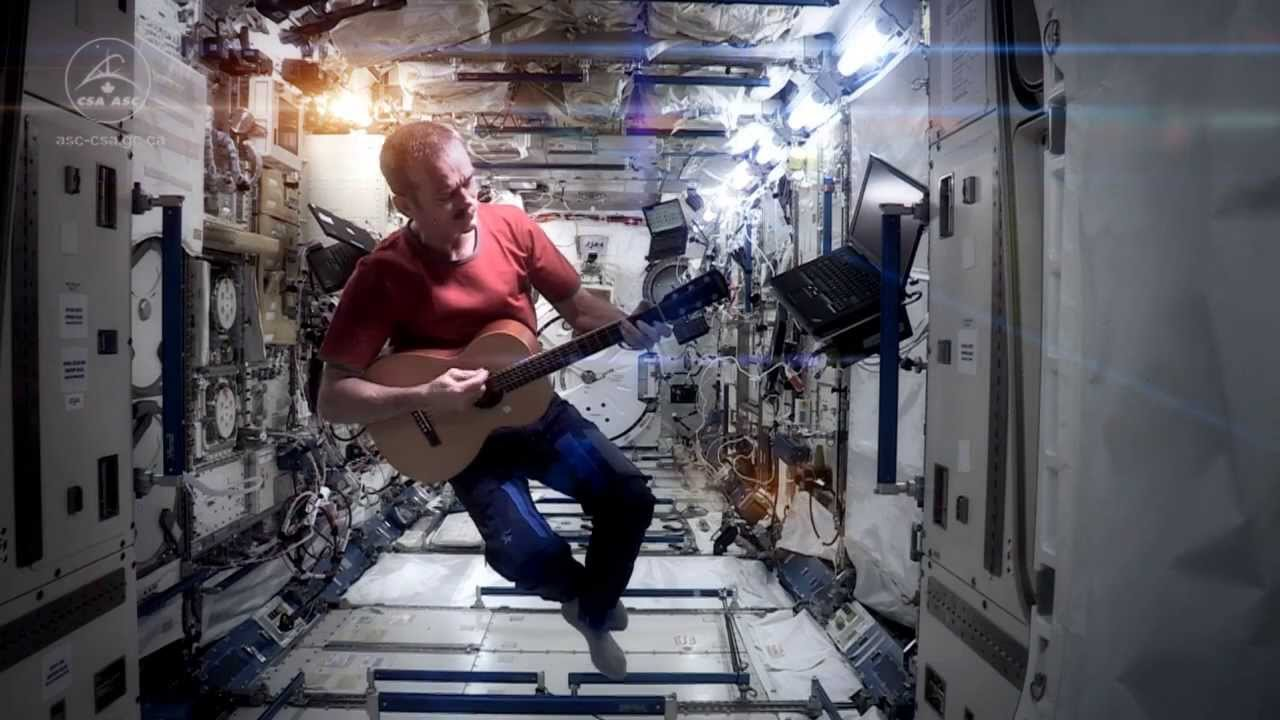 Chris Hadfield Bids Farewell To Space With This Awesome David Bowie Cover