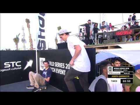Joseph Garbaccio | 1st Skateboard Street Pro Qualifiers | FISE Jeddah - FISE