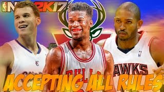 ACCEPTING ALL LEAGUE MEETINGS CHALLENGE! | NBA 2K17 MYLEAGUE