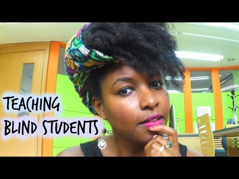 How I Teach Blind Students   Create Long Lasting Materials - YouTube