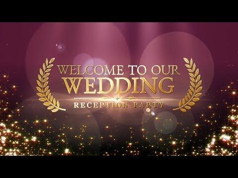 結婚式★オープニング動画を制作【4種】いたします 高画質★かわいい 安い★ 映画風イントロ も有ります★ イメージ1
