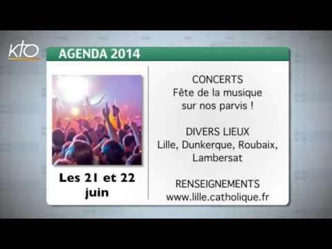 Agenda du 16 juin 2014