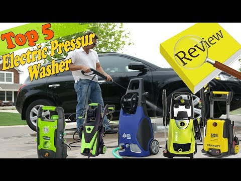 Best electric pressure washer Reviews 2018 | Best electric power washer | Best home pressure washer