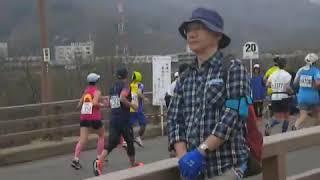 2015長野マラソン 五輪大橋上