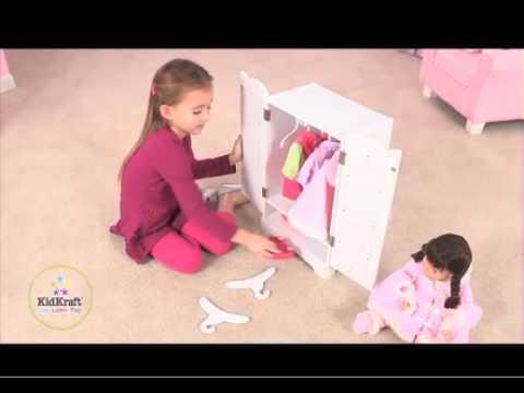 KidKraft - Puppenschrank Lily