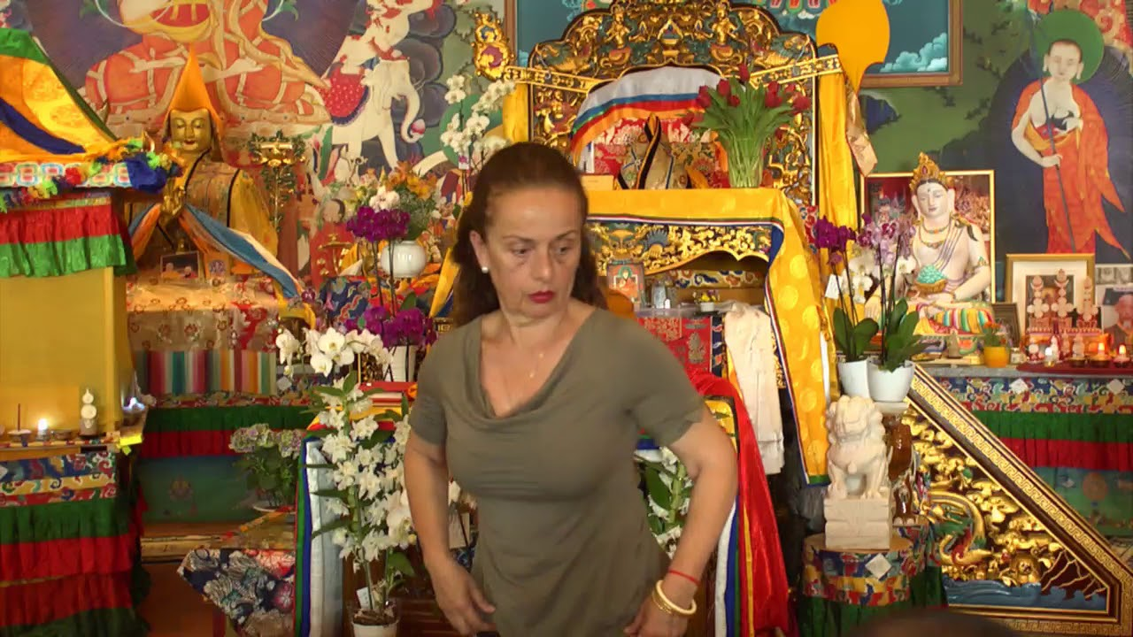 Lam Rim transmission with Lama Nyitrul Tulku Rinpoche  - part 1