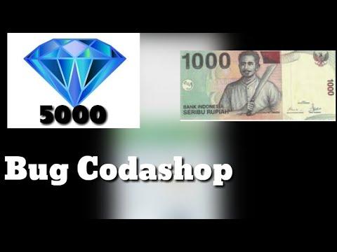 5000 Diamond Cuman Seribu|Bug Codashop Paling Gokil