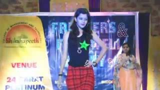 Girls Ramp Walk - Fresher's & Farewell Party 2016 - Shikshapeeth College