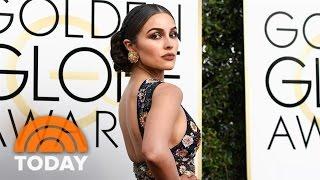 ExMiss Universe Olivia Culpo Frankie Grande Talk Golden Globes Red Carpet Fashion  TODAY