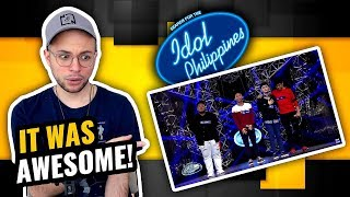 4th Dimension - Stay With Me | Idol Philippines 2019 | MUSIC PRODUCER REACTION
