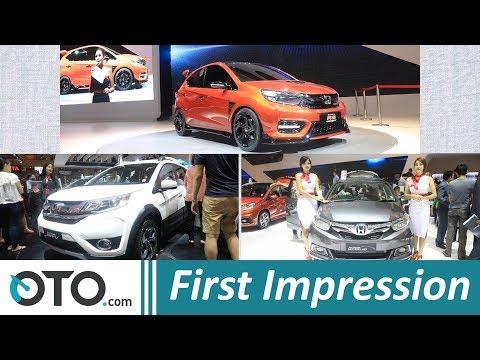 Honda Mobilio SE, BR-V 2018 & Small RS concept | First Impression | IIMS 2018 | OTO com