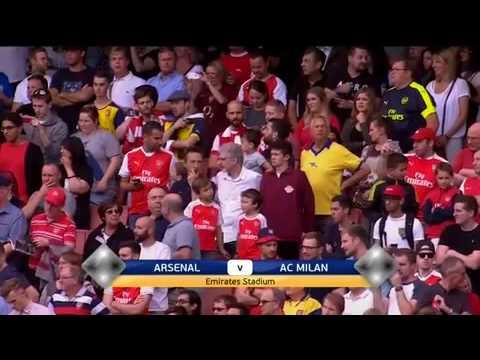 Arsenal Legends vs AC Milan Legends 4-2 ● All Goals & Highlights ●2016