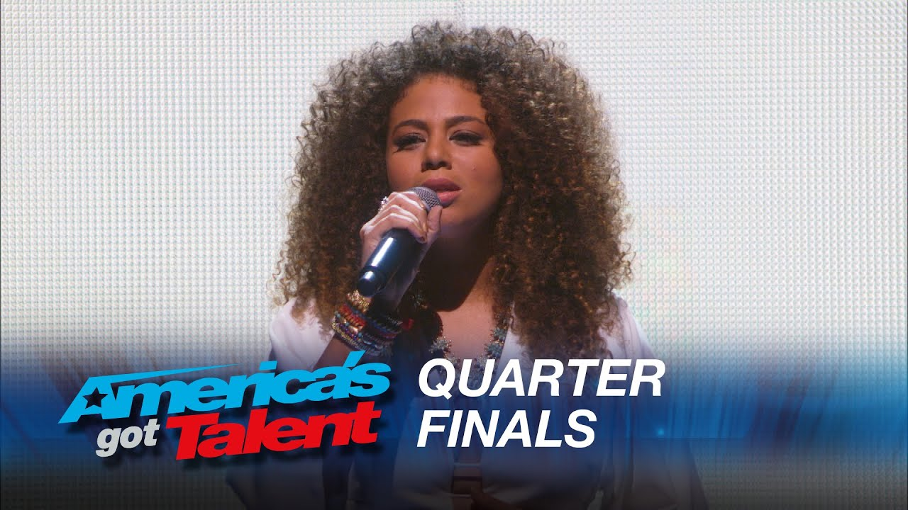 Samantha Johnson:  Powerful Vocalist Takes On «California Dreamin'» – America's Got Talent 2015 #AGT