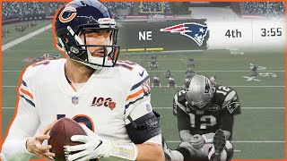 """Mitch Trubisky Out """"Bradying"""" Tom Brady In The 4th Quarter!? (Madden 20)"""