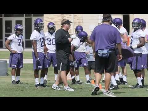 Gary Patterson: Unplugged at practice
