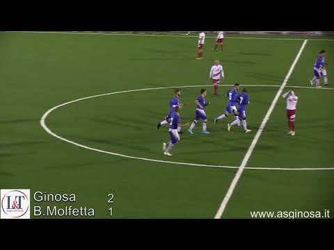 Preview video GINOSA-Borgorosso MOLFETTA 2-1 Un Ginosa con cuore e grinta vince in rimonta sul Molfetta