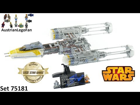 Vidéo LEGO Star Wars 75181 : Y-Wing Starfighter UCS