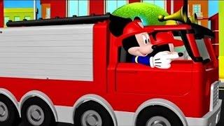 Мультики где герои стали пожарными! Мультфильмы для детей!