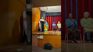Speech by Shri Ramlinga Reddy, Former Home Minister and BTM MLA on Sahabalve's 4th Annual Day