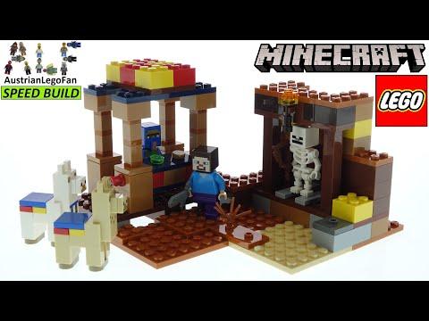 Vidéo LEGO Minecraft 21167 : Le comptoir d'échange