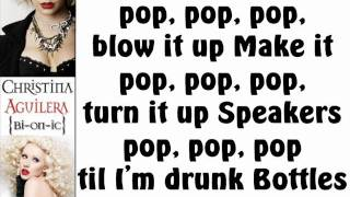 Christina Aguilera - Prima Donna (Lyrics On Screen)