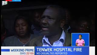 Tenwek Hospital Inferno:Fire gutted down part of the hospital,no casualties reported