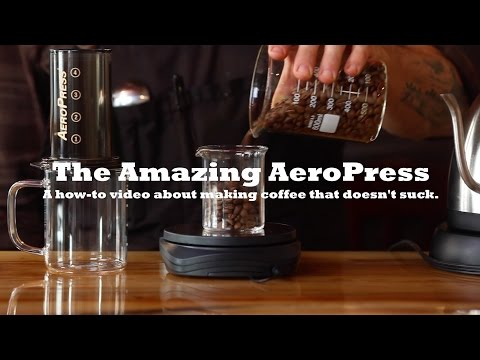 AeroPress Coffee | How-to Make a Great Cup at Home!