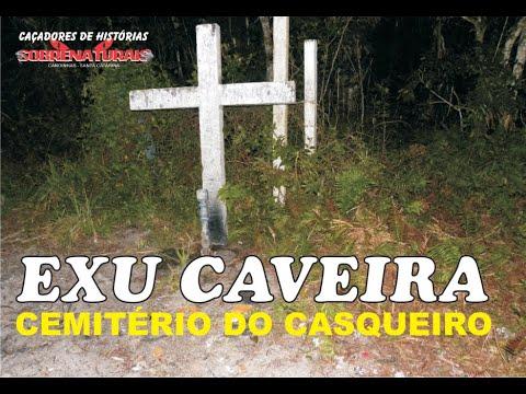 CEMITÉRIO DO CASQUEIRO - OFERENDAS E EXU CAVEIRA