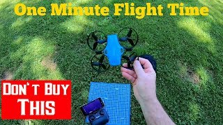 Potensic A30W Wifi FPV Drone Review Don't Buy Period
