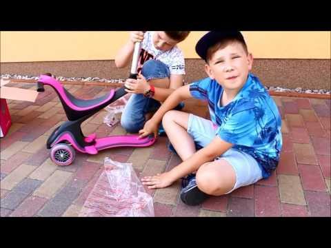 GLOBBER KinderrolleR Scooter Dreirad GLOBBER deutsch im Test