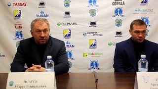 Пресс-конференция «Алтай Торпедо» – «Ертiс»