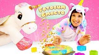 Радужный торт для Единорога - Маша Капуки и Игры для детей