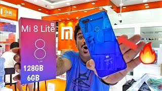 Hindi | Mi 8 Lite Unboxing 🔥Aurora Blue🔥 128GB 6GB. Available In Dubai