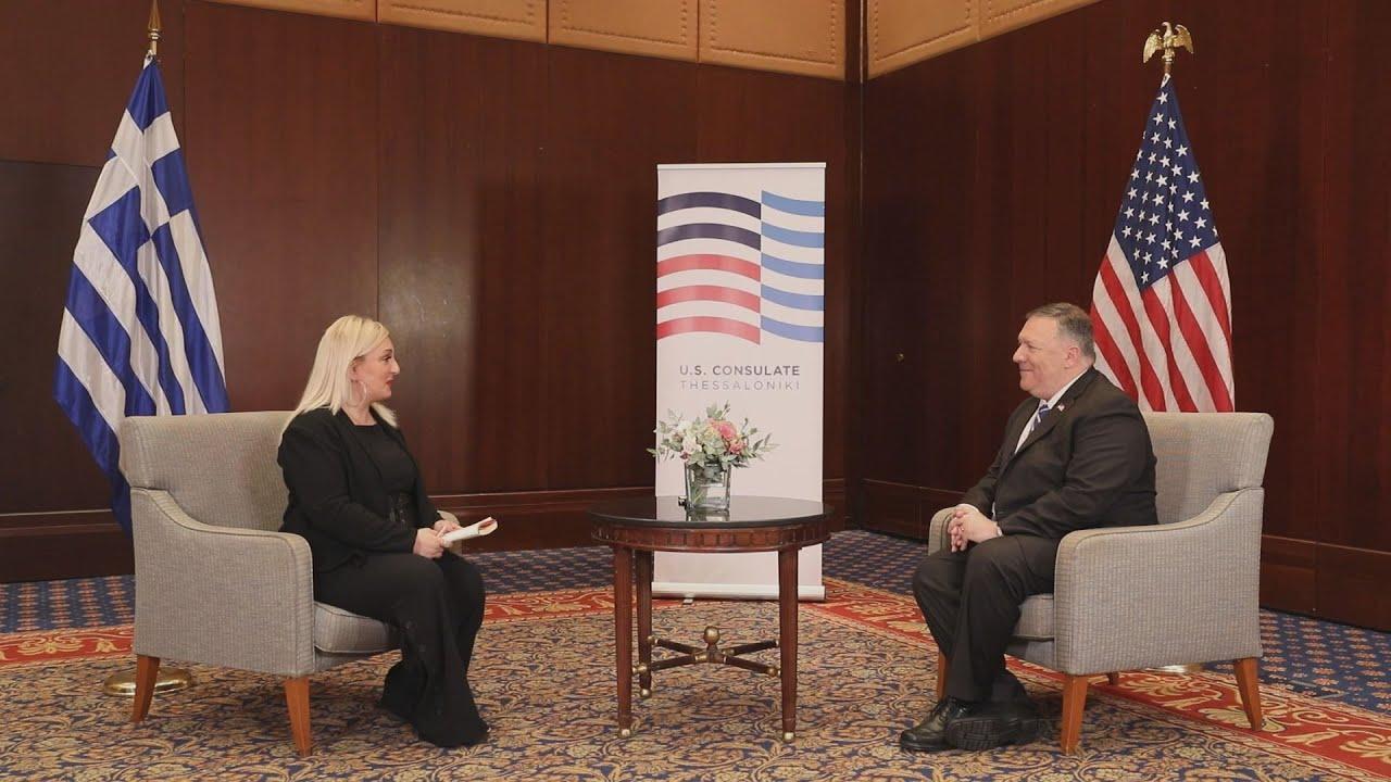 Μάικ Πομπέο στο ΑΠΕ – ΜΠΕ: Έρχονται και άλλες αμερικανικές επενδύσεις στη Βόρεια Ελλάδα