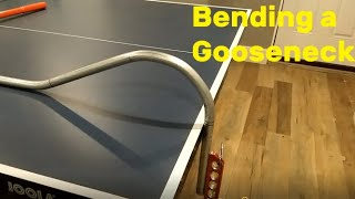 EMT Conduit Bending: Best way to bend a Gooseneck Accurately