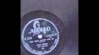 PINEY BROWN - HOW ABOUT ROCKING WITH ME - APOLLO