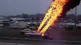 Classic Car Flamethrowers Video