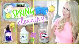 15 Awesome Cleaning Hacks + DIY Natural Cleaning Products!