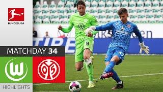 Wolfsburg 2-3 Mainz 05 Pekan 34