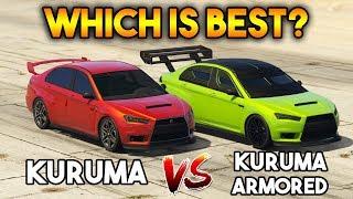 GTA 5 ONLINE : KURUMA ARMORED VS KURUMA (WHICH IS BEST?)