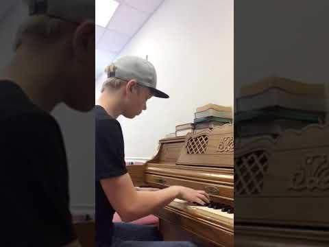 Josiah Bonin playing a Keith Green song