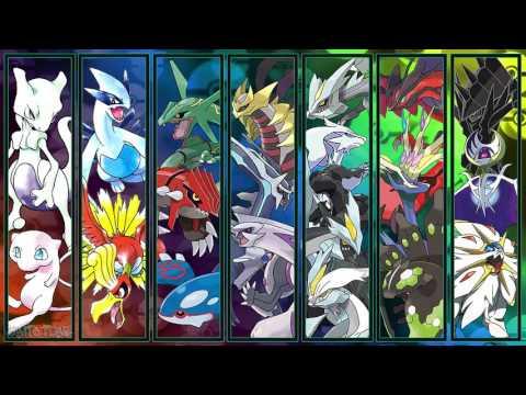 All Pokémon Main Legendary Battle Themes [GEN 1-7]