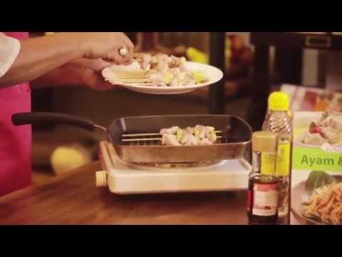 Video Rumah Kreasi Erlangga - Memasak Yakitori
