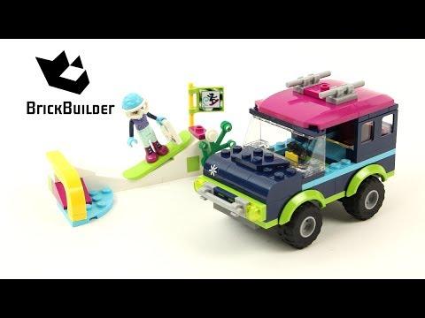 Vidéo LEGO Friends 41321 : Le tout-terrain de la station de ski